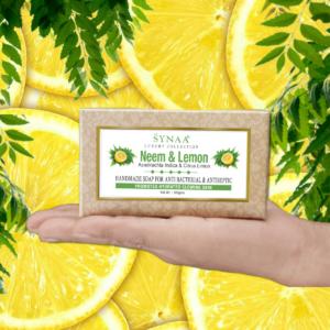 Synaa - Neem & Lemon Handmade Soap