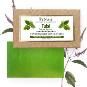 Synaa - Tulsi Handmade Soap