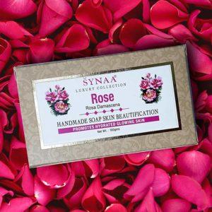 Synaa rose Handmade Soap 1