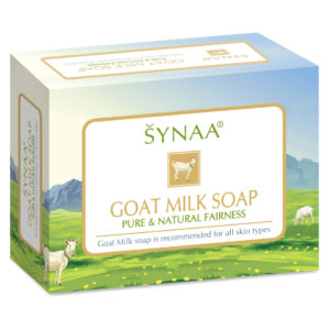 synaa goat milk soap