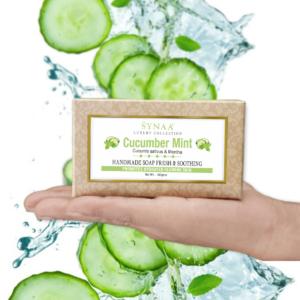 Synaa - Cucumber Handmade Soap