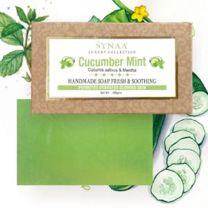 Synaa - Cucumber Mint Handmade Soap