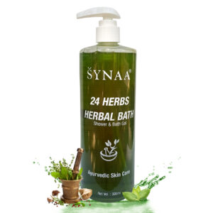 Synaa 24 Herbal Shower & Bath Gel